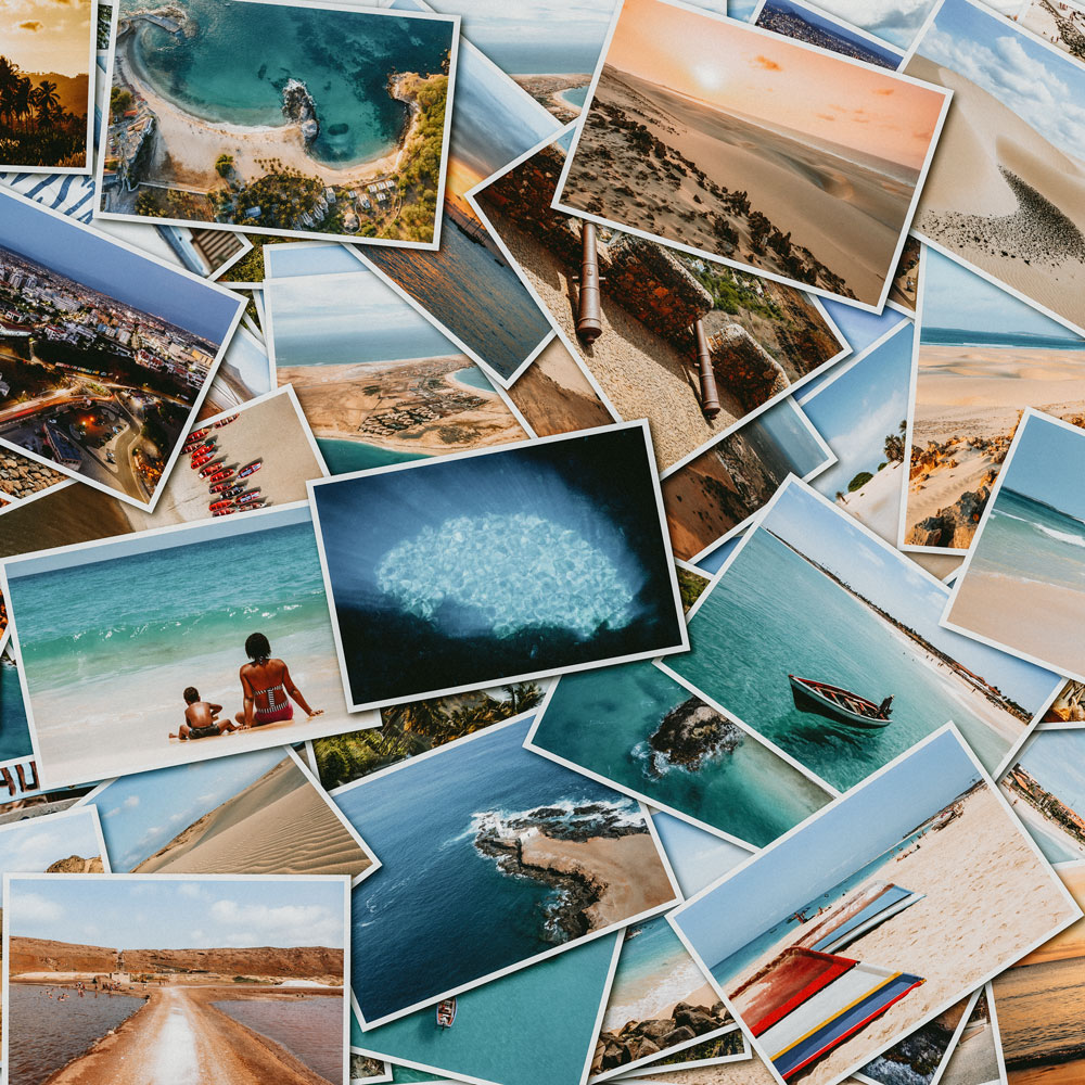 Button to access online photo and art printing services and information